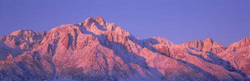 Mount Whitney Stock Foto