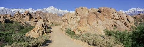 Mount Whitney, Royalty Free Stock Photography