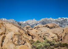 Mount Whitney photo stock