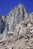 Mount Whitney, California 14er and state high point Royalty Free Stock Images