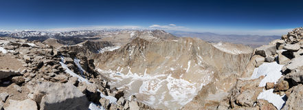 Mount Whitney Panorama Royalty Free Stock Photos