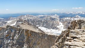 Mount Whitneytoppmötelandskap Arkivbilder