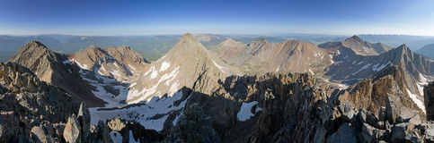 Mount Wilson Summit Panorama Royalty Free Stock Image