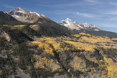 Mount Wilson and Wilson Peak in Uncompahgre National Forest Stock Image