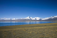 Mount Xixiabangma royalty free stock photography