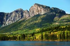 Mount Yamnuska. In Nakoda Indian Reserve, Kananaskis Country, Alberta,Canada Stock Photography