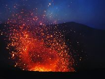 Mount Yasur Royalty Free Stock Images
