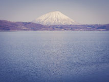 Mount Yotei with vintage filtered effect, Japan Royalty Free Stock Photo