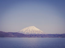 Mount Yotei with vintage filtered effect, Japan Royalty Free Stock Photography