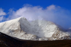Mount Ypsilon of Colorado Stock Image