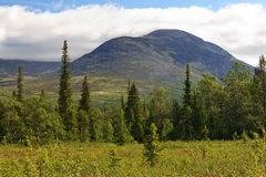 The Mount Yudychvumchorr, Khibiny Royalty Free Stock Photography