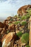 Mount Zeil, Australia. Way to top of the Mount Zeil in MacDonnell Range - Northern Territory, Australia Stock Image