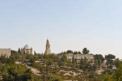 Mount Zion Stock Photography