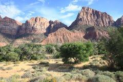 Mount Zion National Park Stock Photos