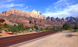 Mount Zion National Park Stock Image