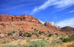 Mount Zion National Park Stock Images