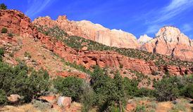 Mount Zion National Park Royalty Free Stock Photos