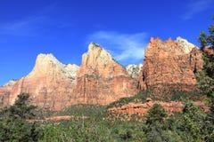 Mount Zion National Park Stock Photo