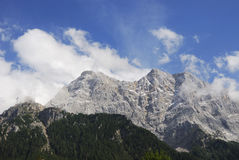 Mount Zugspitze Stock Photography