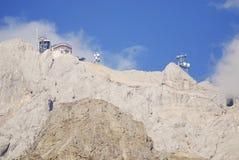 Mount Zugspitze Stock Photo