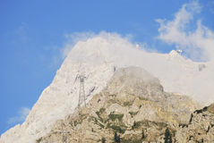 Mount Zugspitze Royalty Free Stock Photography