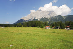 Mount Zugspitze Stock Images