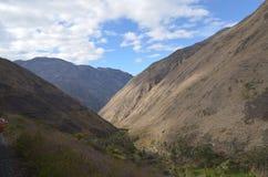 Mounta στον Ισημερινό, Riobamba, Στοκ φωτογραφία με δικαίωμα ελεύθερης χρήσης