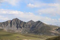 mountai et prairie photo libre de droits