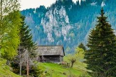 Mountaian cabin Royalty Free Stock Photo
