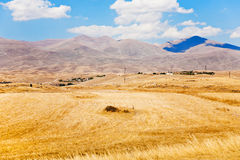 Mountail plateau in Armenia Royalty Free Stock Image