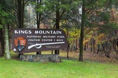 Mountain国王国家公园 免版税库存图片