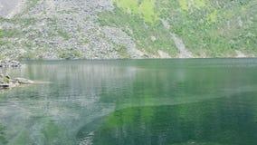 Mountain湖在夏天 免版税库存照片