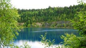 Mountain湖在德国 图库摄影