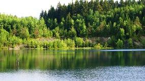 Mountain湖在德国 库存图片