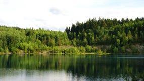 Mountain湖在德国 免版税库存图片