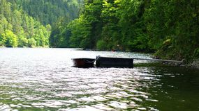 Mountain湖在德国 免版税图库摄影