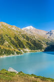 Mountain湖,哈萨克斯坦 免版税库存图片