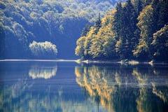 Mountain湖 图库摄影