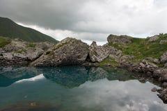 Mountain湖 免版税库存照片