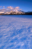 Mountain 06. Wintertime at Caples Lake in the Sierra Nevada Mountain Range, El Dorado National Forest, California, USA royalty free stock photos