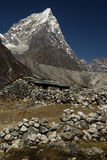 Mountain. Landscape. Sagarmatha National Park, Nepal Stock Photography