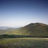 Mountain. Beautiful Square Photograph of Mountain against a clean sky Stock Image