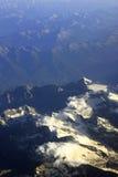 Mountain. Aerial view of a mountain range Royalty Free Stock Photos