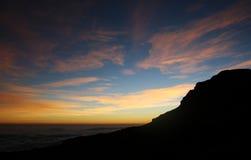 Mountain. Trekking in the Drakensberg Mountains stock images