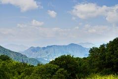 Mountain. The photo taken in Beijing Baihua mountain Royalty Free Stock Photo
