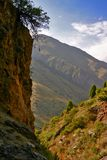 Mountain 2. Mountain locality in the north of Kyrgyzstan royalty free stock images