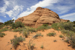 Mountain. Stone formation at Arches National Park, Utah,USA Stock Images