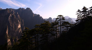 Mountain. The mountain hangshan is famous scenes in china Royalty Free Stock Photos