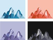 Mountain vector Stock Photo