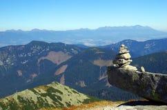 Mountain. Slovak mountain Low Tatras in the summer Stock Photos